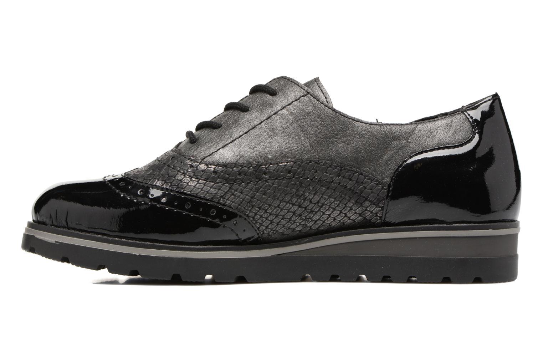 Lace-up shoes Remonte Alix R1901 Black front view
