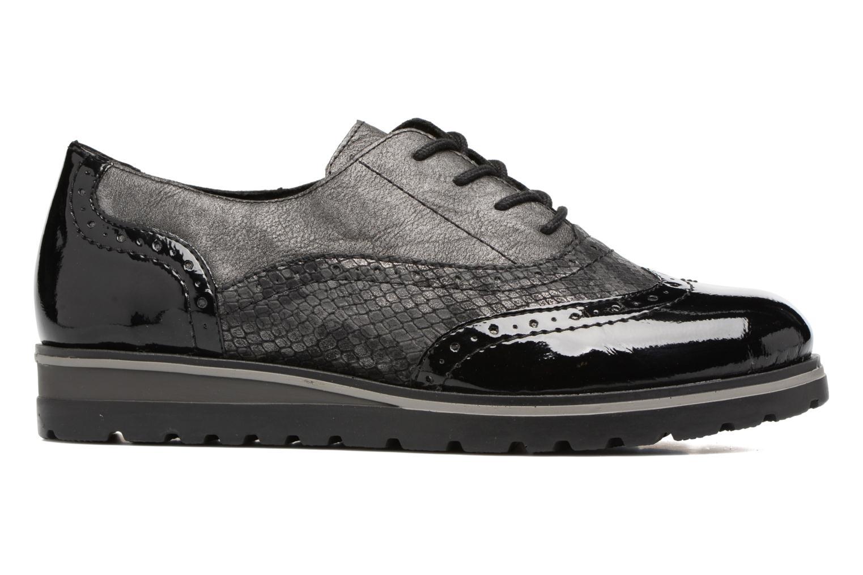 Zapatos con cordones Remonte Alix R1901 Negro vistra trasera