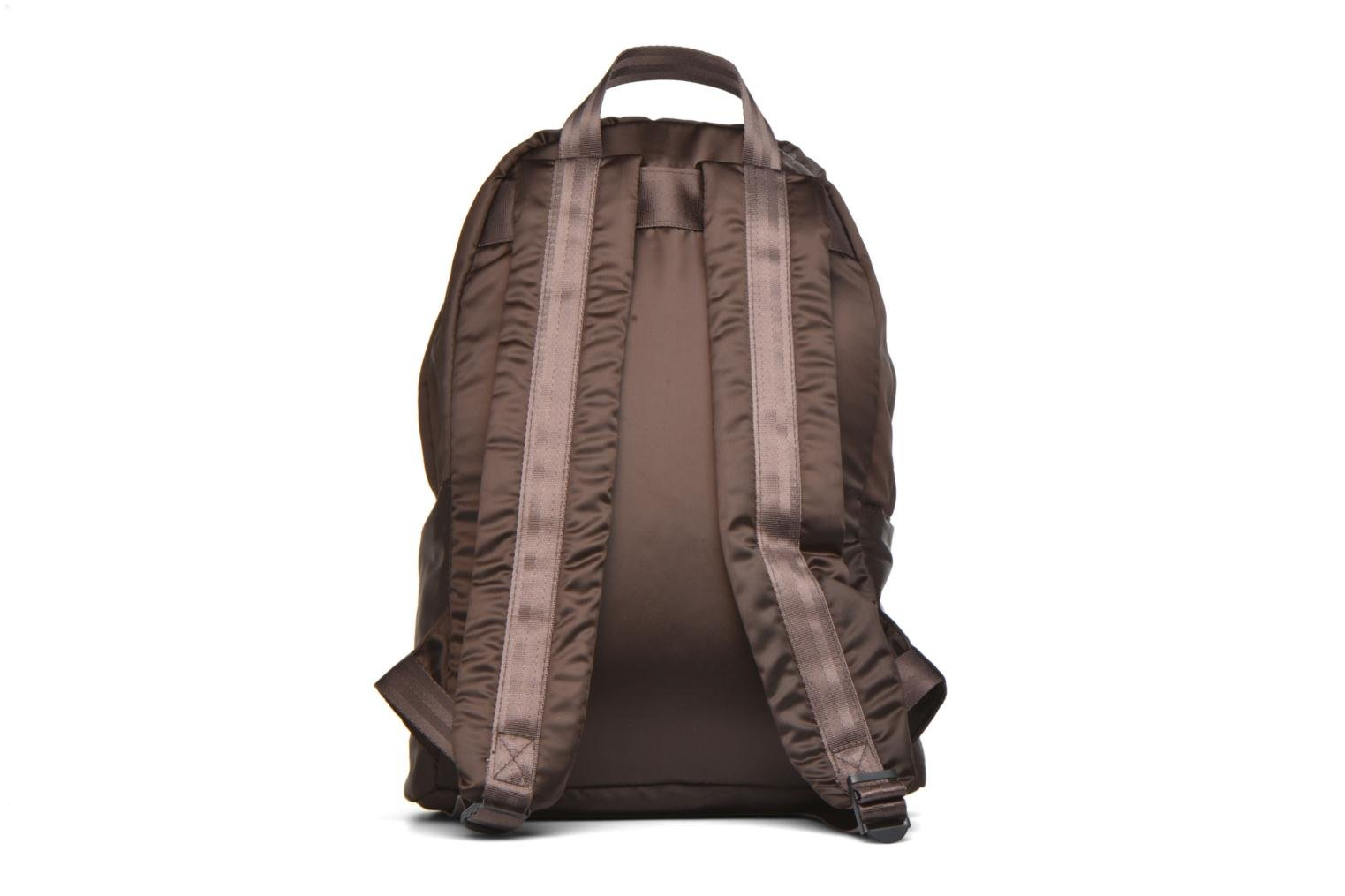 Zaini Bensimon City Backpack Marrone immagine frontale