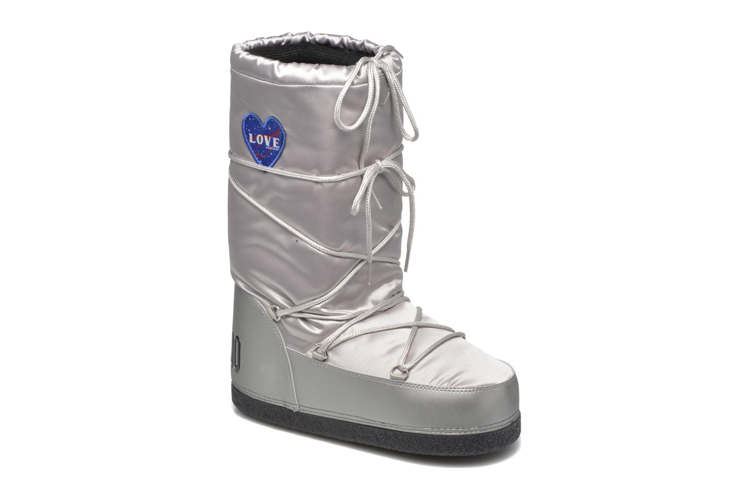 Boots & wellies Love Moschino Silversnow Silver detailed view/ Pair view