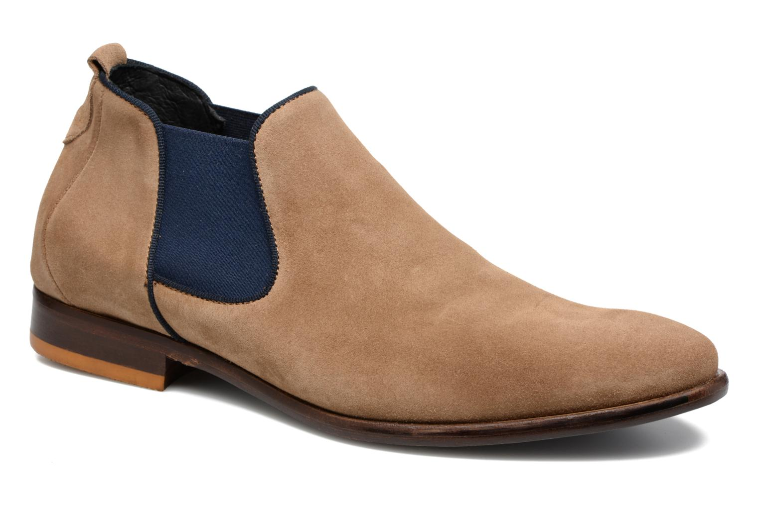 Ankle boots Mr SARENZA Toddown Beige view from the right