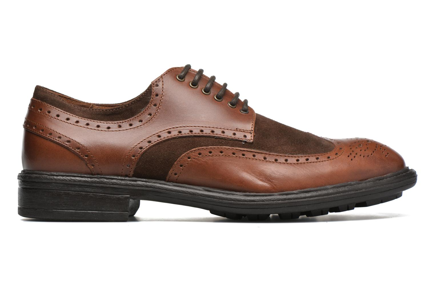 Lace-up shoes Marvin&co Tamworth Brown back view