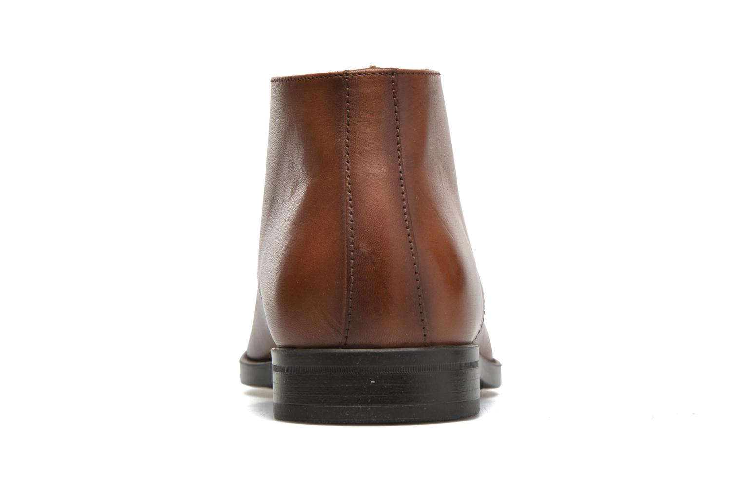 Ankle boots Marvin&co Tipton Brown view from the right