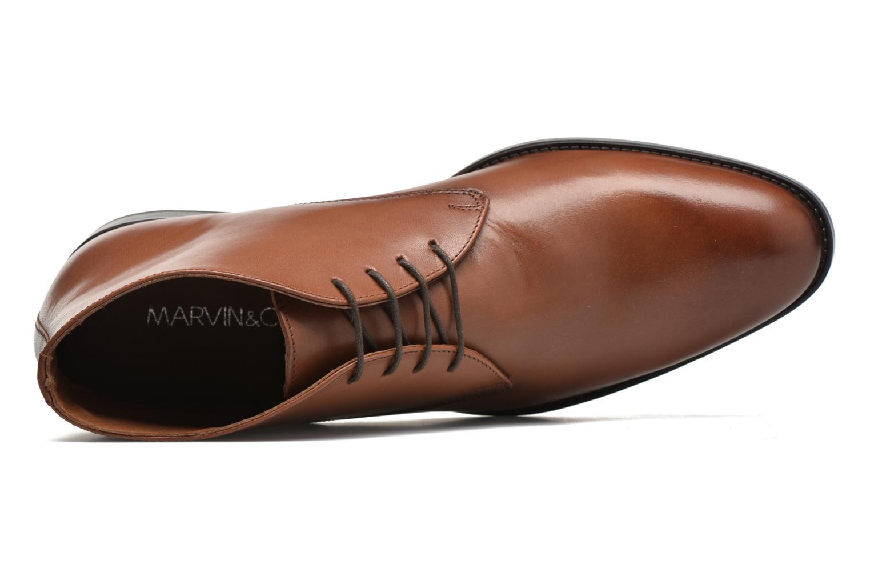 Stiefeletten & Boots Marvin&Co Tipton braun ansicht von links