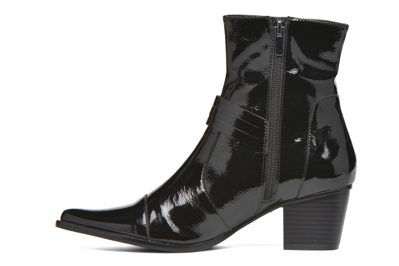Bottines et boots Madison AYRAN #Ch Verni NOIR/VerSp Noir vue face