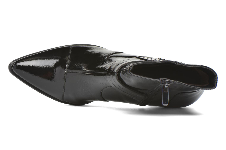 Bottines et boots Madison AYRAN #Ch Verni NOIR/VerSp Noir vue gauche