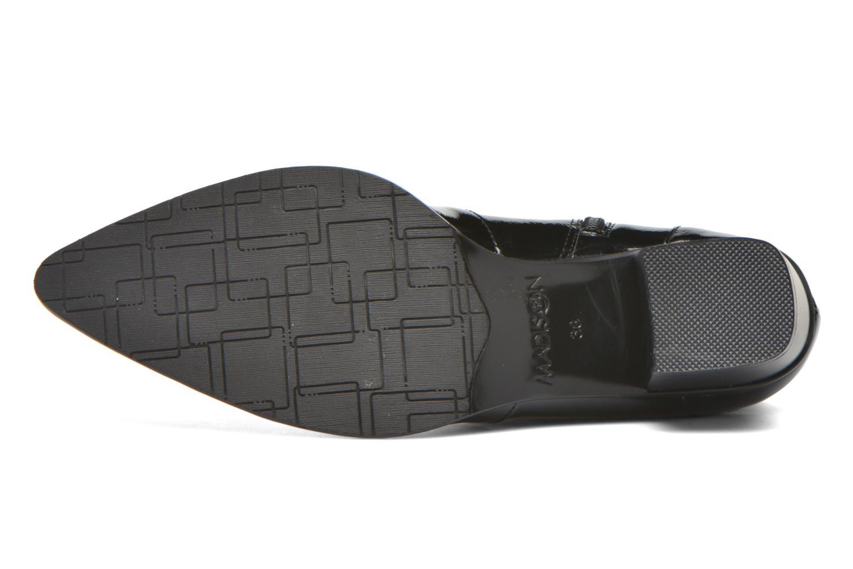 Bottines et boots Madison AYRAN #Ch Verni NOIR/VerSp Noir vue haut