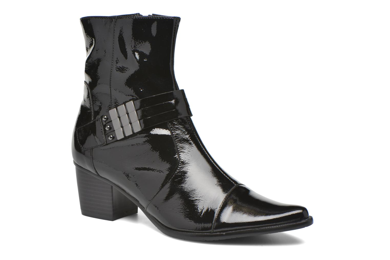 Bottines et boots Madison AYRAN #Ch Verni NOIR/VerSp Noir vue détail/paire