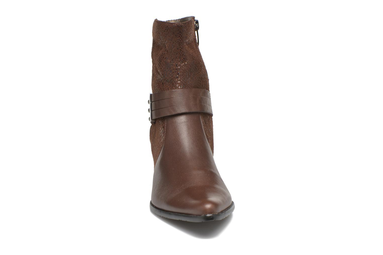 Bottines et boots Madison AYRAN ChGiava HUMUS/ReptSp Marron vue portées chaussures