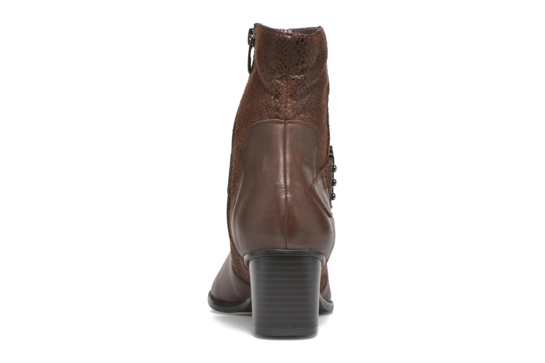 Bottines et boots Madison AYRAN ChGiava HUMUS/ReptSp Marron vue droite