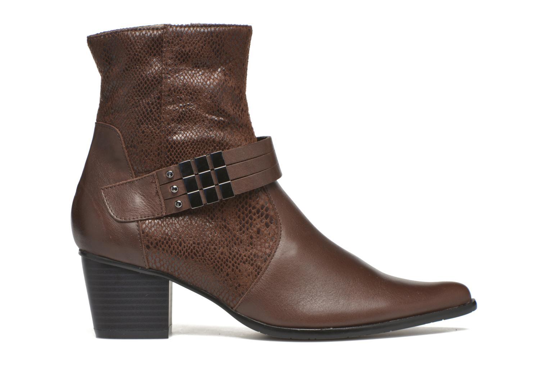 Bottines et boots Madison AYRAN ChGiava HUMUS/ReptSp Marron vue derrière