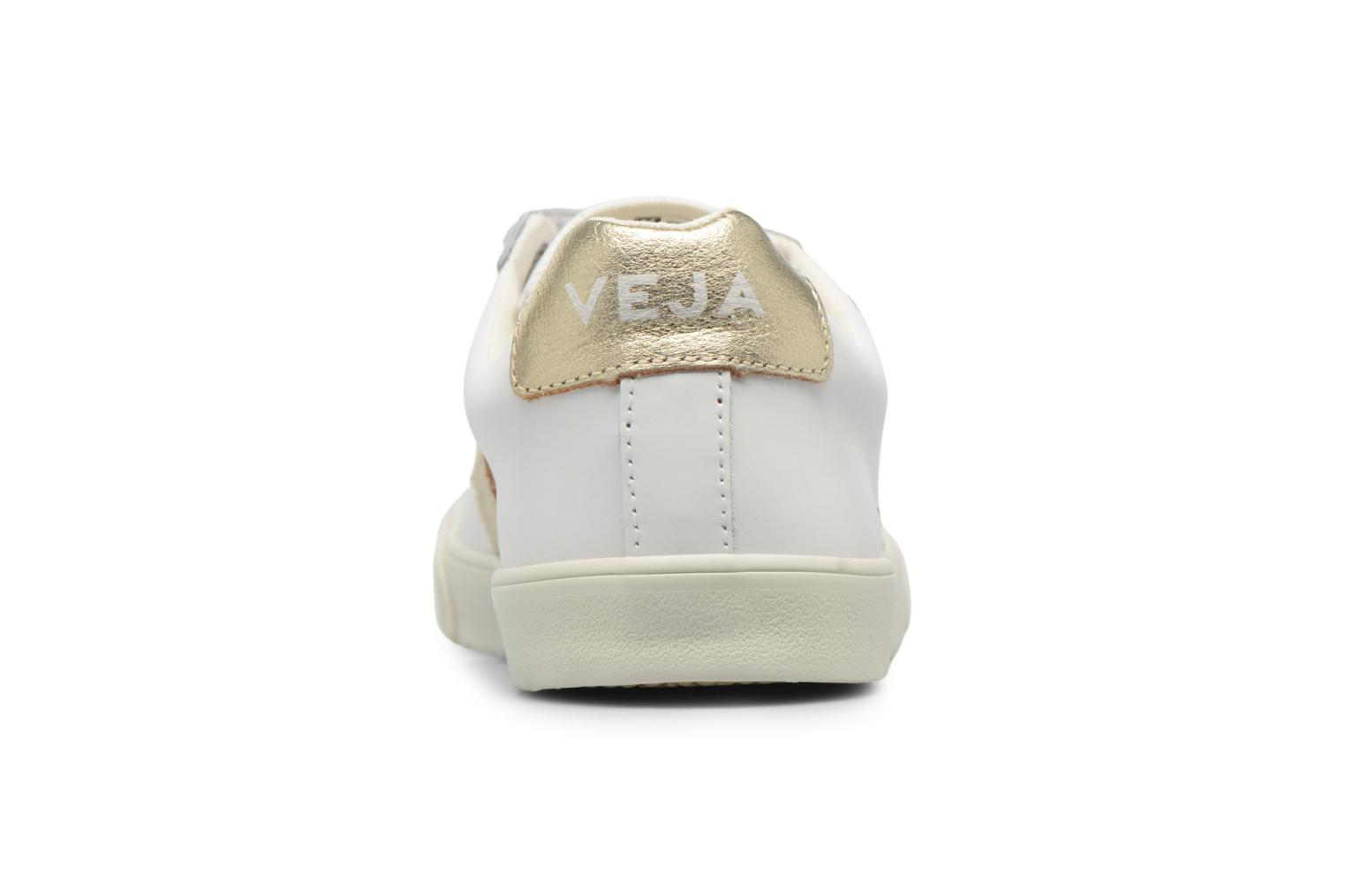 Trainers Veja 3 Lock Bronze and Gold view from the right