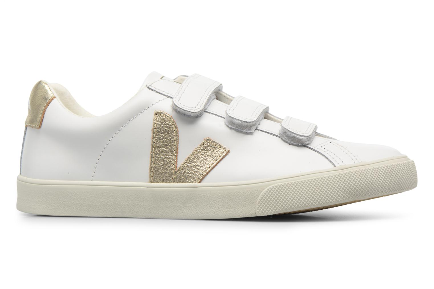 Trainers Veja 3 Lock Bronze and Gold back view