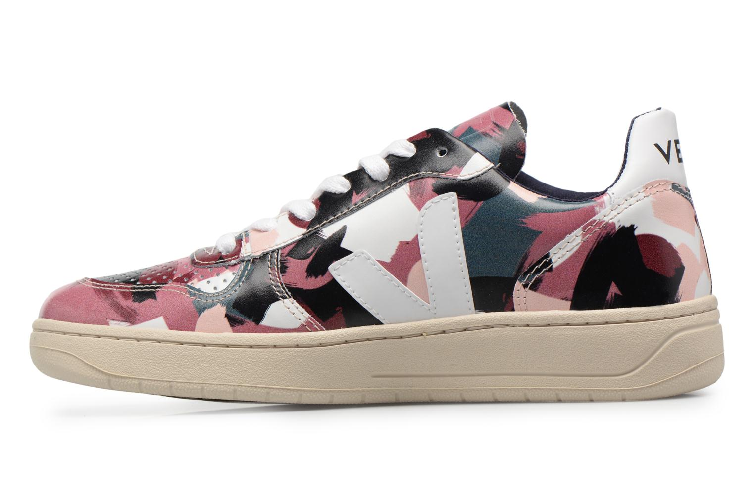 Trainers Veja V-10 W White front view