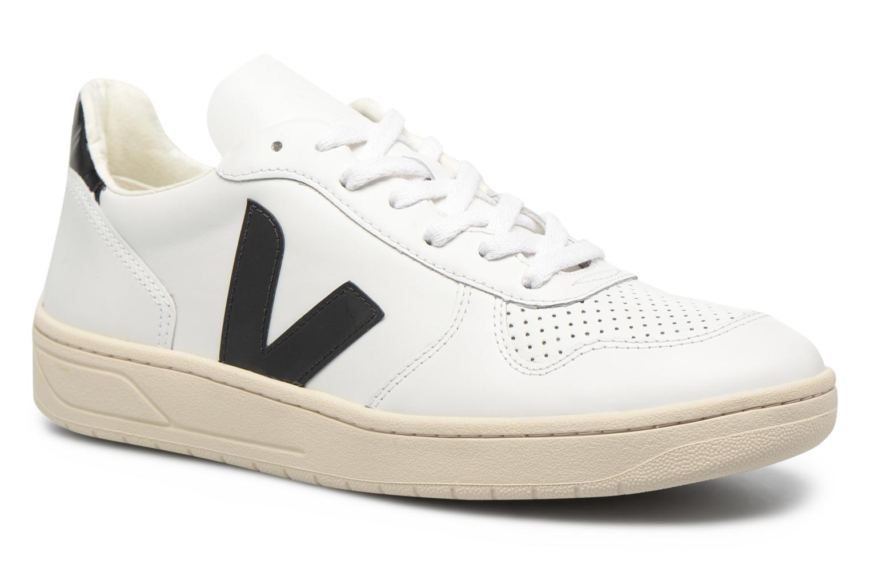 Baskets Veja V-10 Noir vue détail/paire