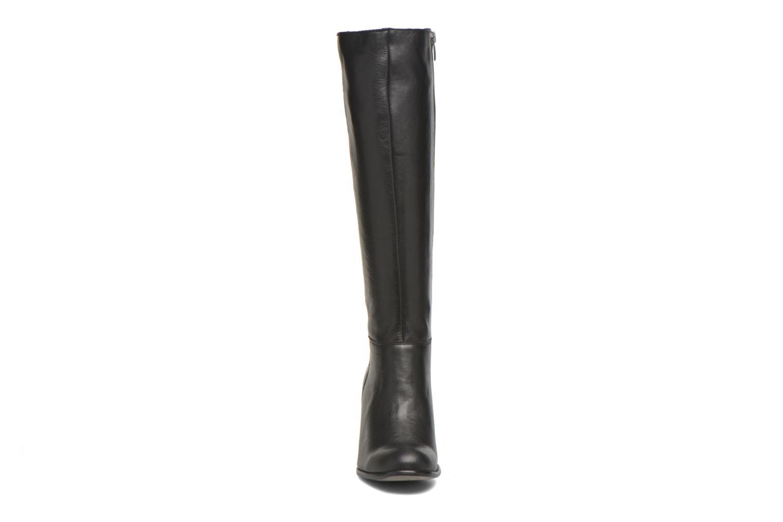 Bottes Karston GLASS #Vo Milled NOIR ~Doubl & 1ere CUIR Noir vue portées chaussures