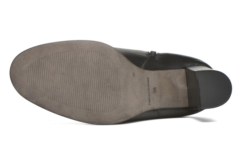 Laarzen Karston GLASS #Vo Milled NOIR ~Doubl & 1ere CUIR Zwart boven