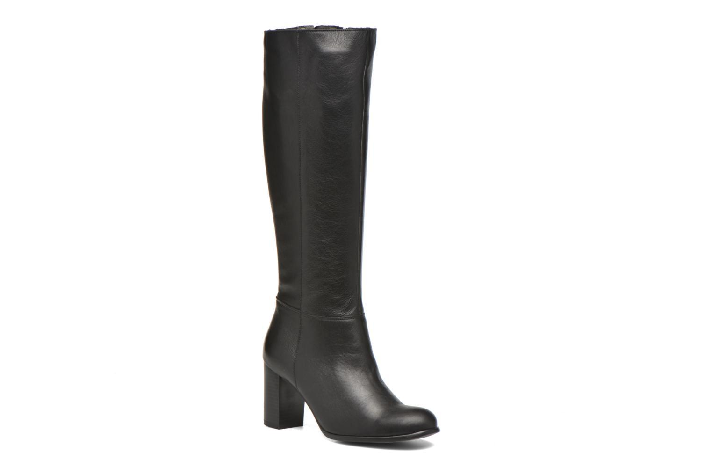 Støvler & gummistøvler Karston GLASS #Vo Milled NOIR ~Doubl & 1ere CUIR Sort detaljeret billede af skoene