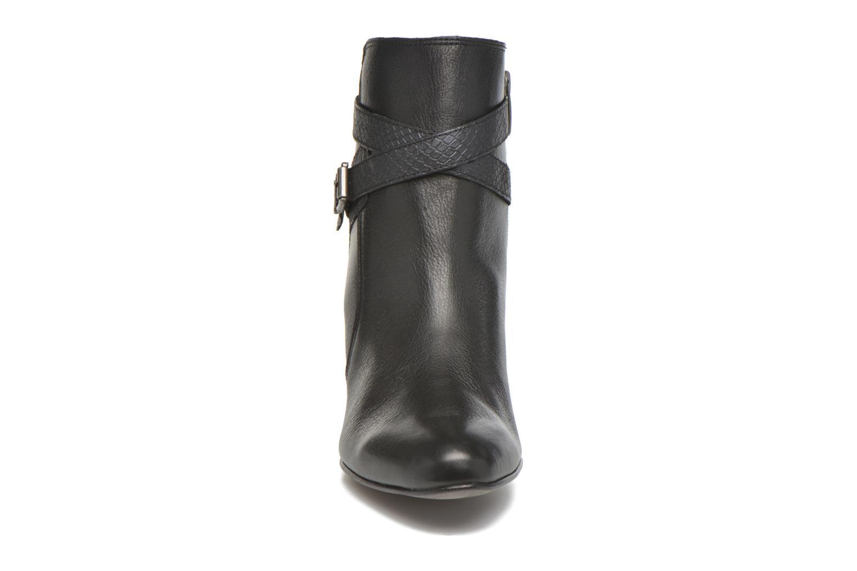 Boots en enkellaarsjes Karston IFOPO #Vo Mil.NOIR/Ch Max ~Doubl & 1ere CUIR Zwart model