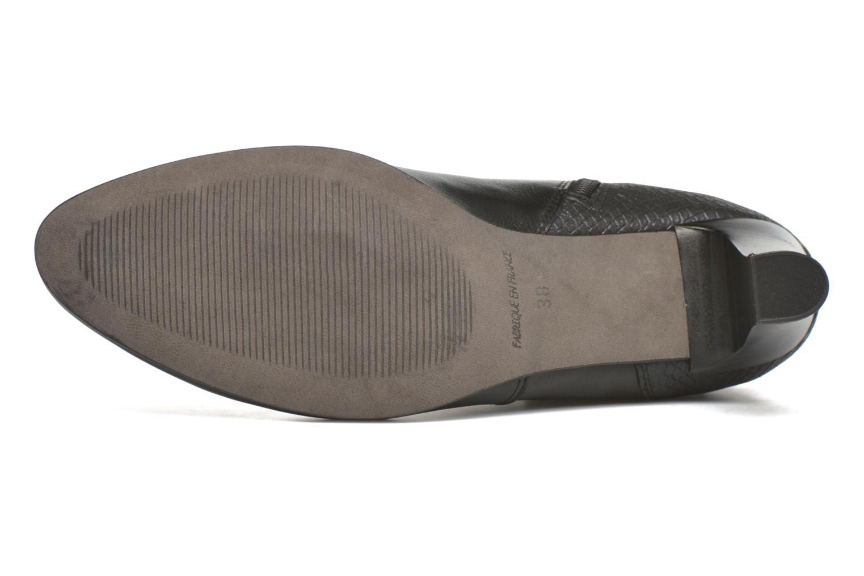 Boots en enkellaarsjes Karston IFOPO #Vo Mil.NOIR/Ch Max ~Doubl & 1ere CUIR Zwart boven