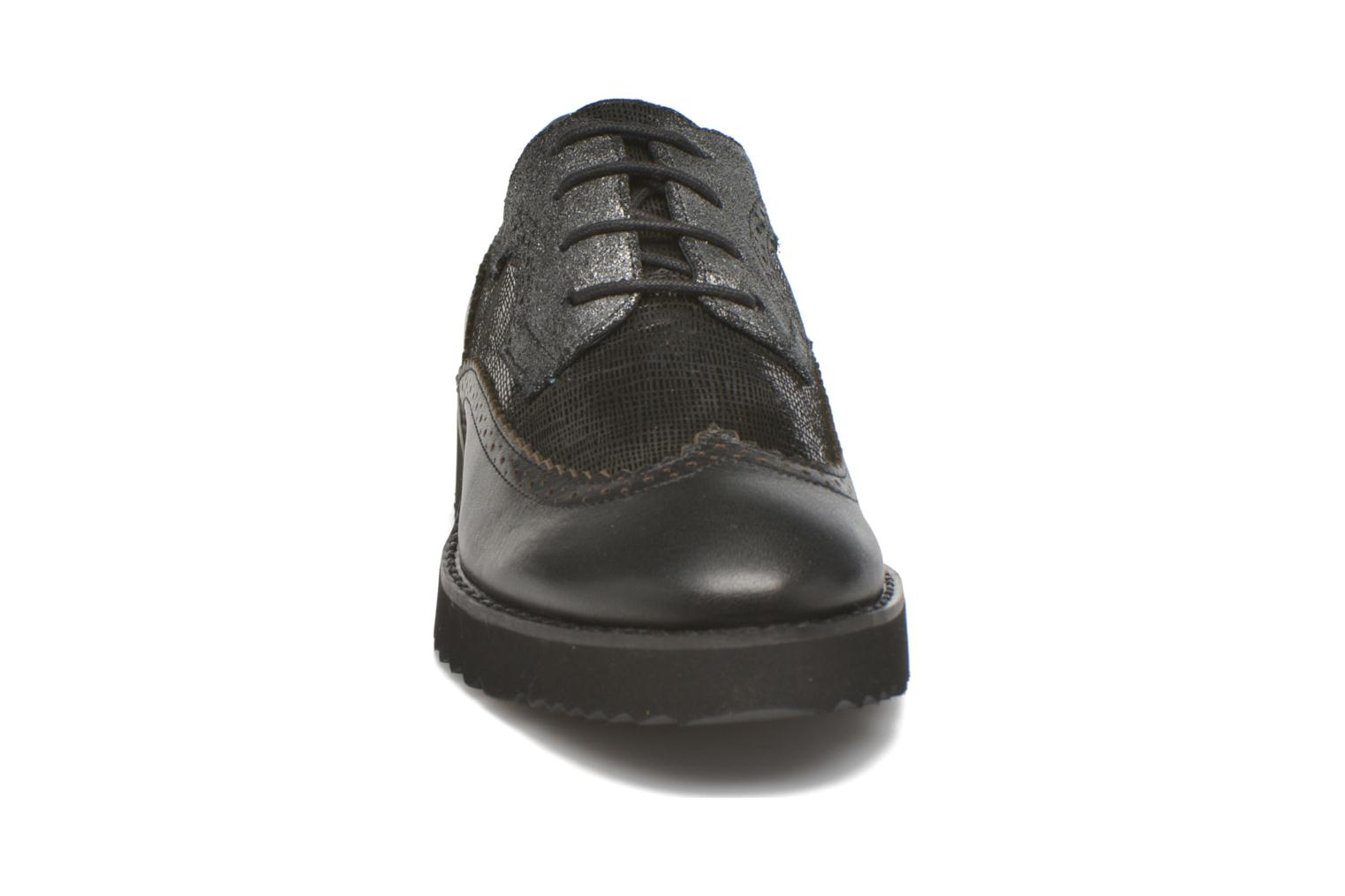 Lace-up shoes Karston OLAGO *Mult Vo Milled NOIR ~Doubl & 1ere CUIR Black model view