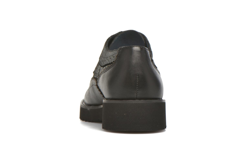 Zapatos con cordones Karston OLAGO *Mult Vo Milled NOIR ~Doubl & 1ere CUIR Negro vista lateral derecha
