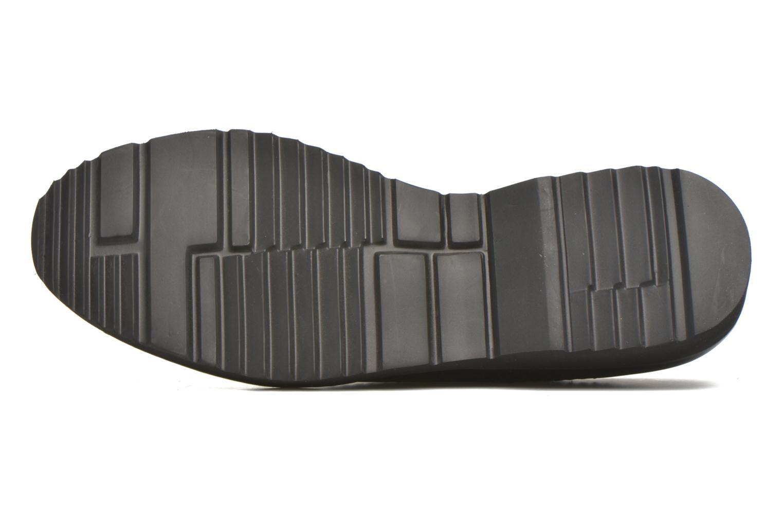 Chaussures à lacets Karston OLAGO *Mult Vo Milled NOIR ~Doubl & 1ere CUIR Noir vue haut