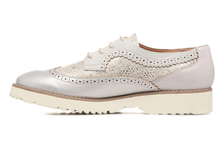 Chaussures à lacets Karston Olago Argent vue face