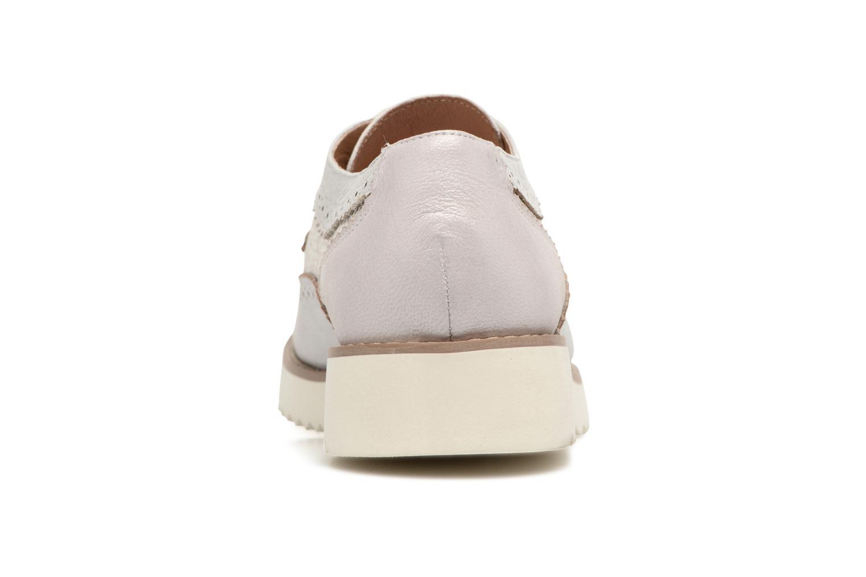 Chaussures à lacets Karston Olago Argent vue droite