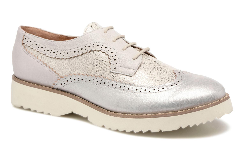 Chaussures à lacets Karston Olago Argent vue détail/paire