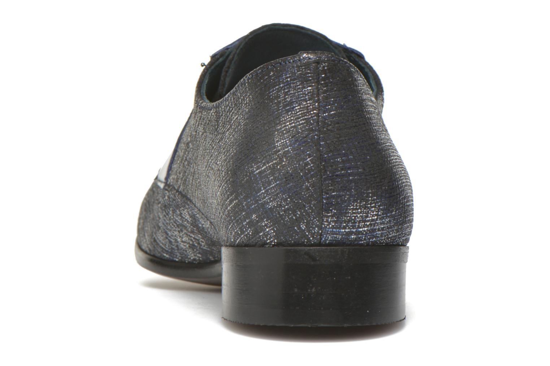 Zapatos con cordones Karston Jocra Azul vista lateral derecha