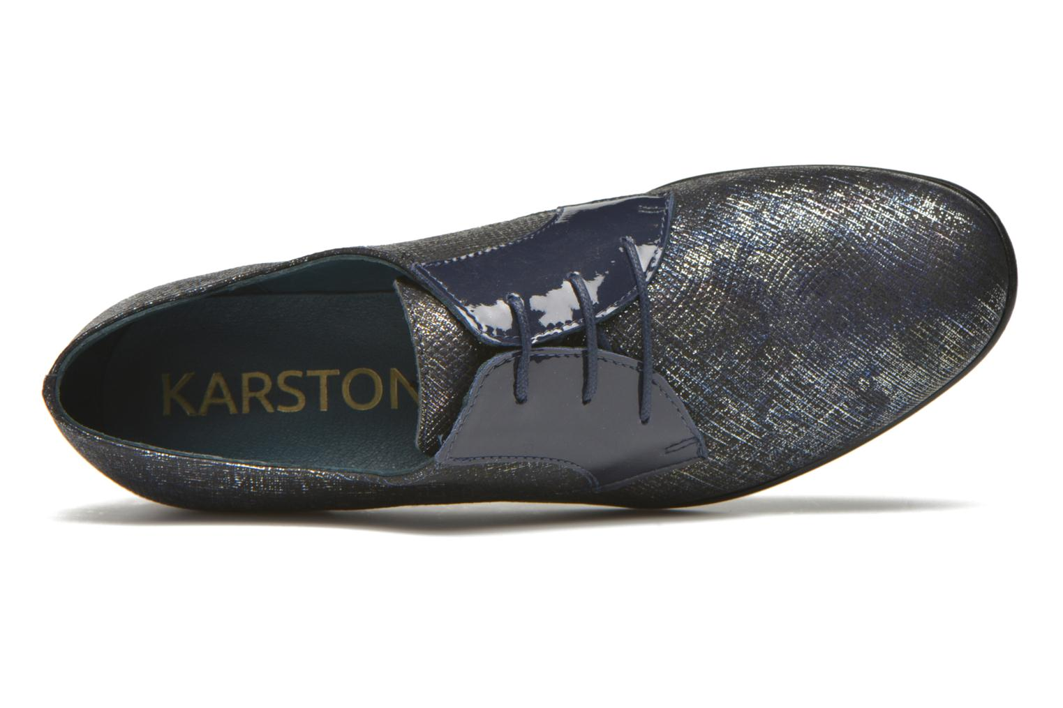 Lace-up shoes Karston Jocra Blue view from the left