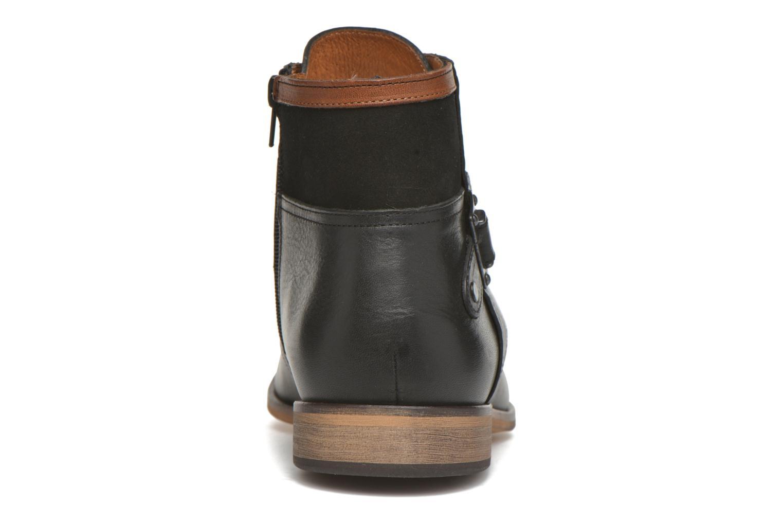 Bottines et boots Kost Fèvres23 Noir vue droite
