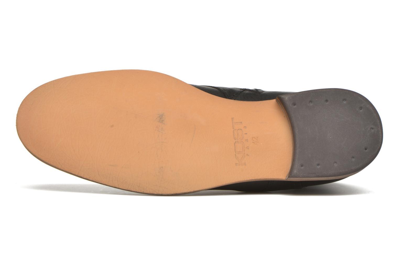 Bottines et boots Kost Fèvres23 Noir vue haut