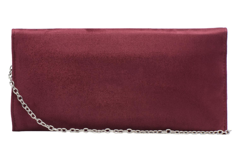 Handbags Menbur Pochette suédée S Red front view