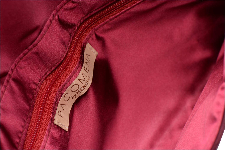 Handbags Menbur Pochette suédée S Red back view