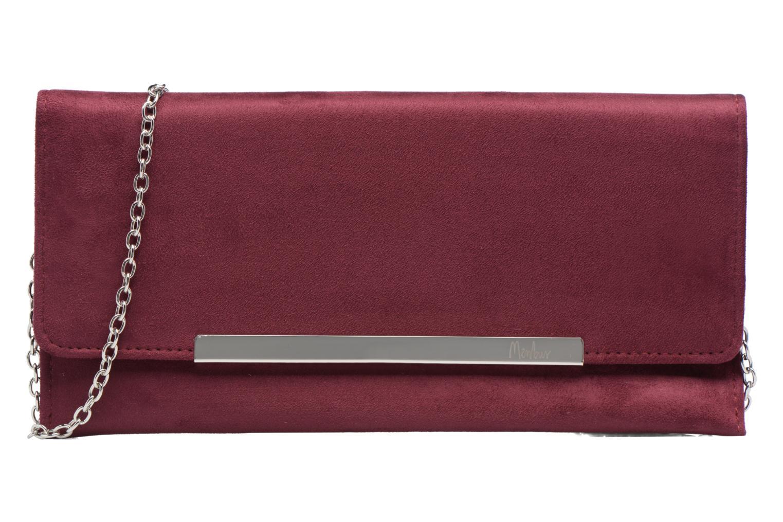 Handbags Menbur Pochette suédée S Red detailed view/ Pair view