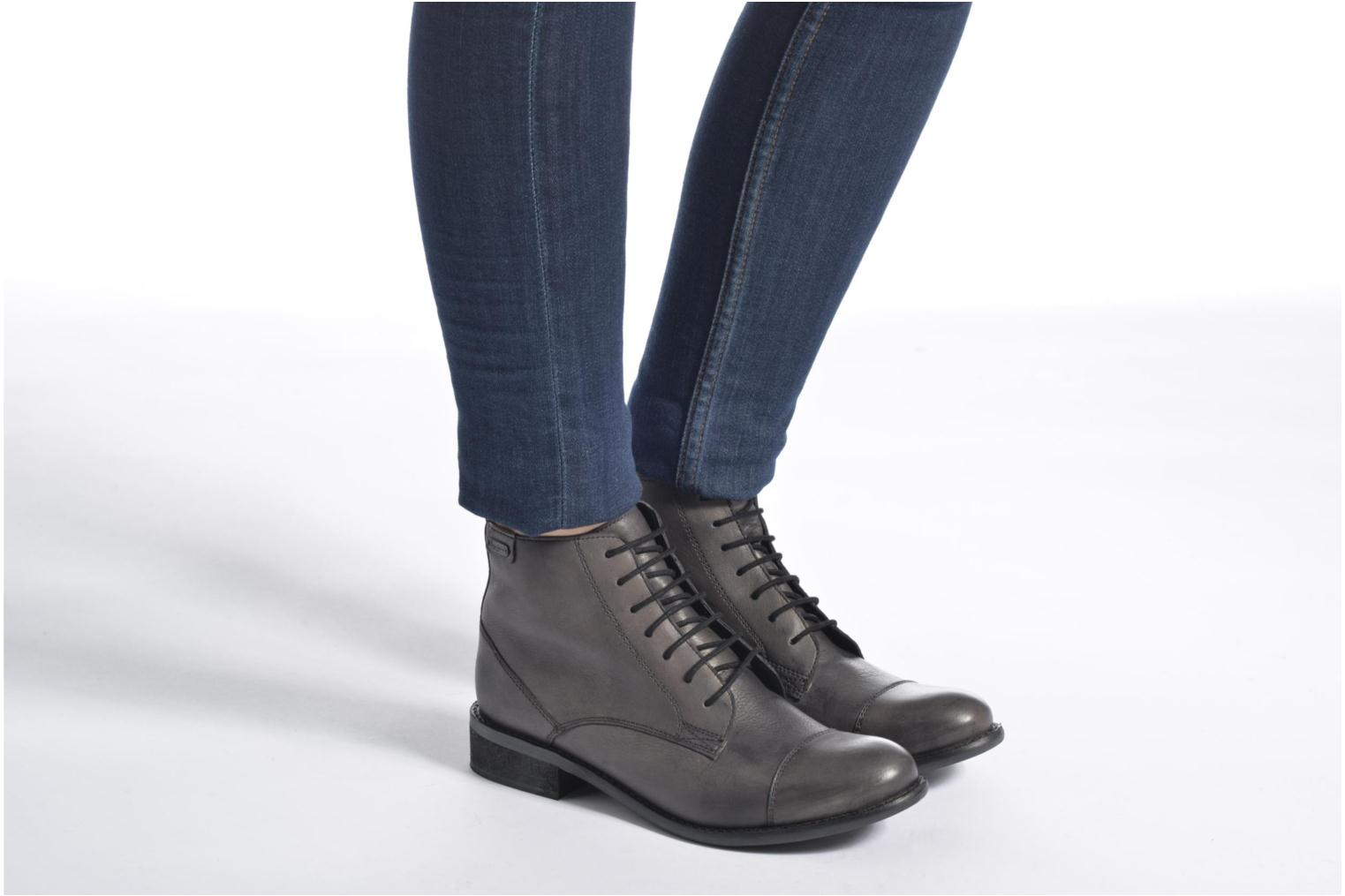 Ankle boots Pepe jeans Seymour Laces Black view from underneath / model view