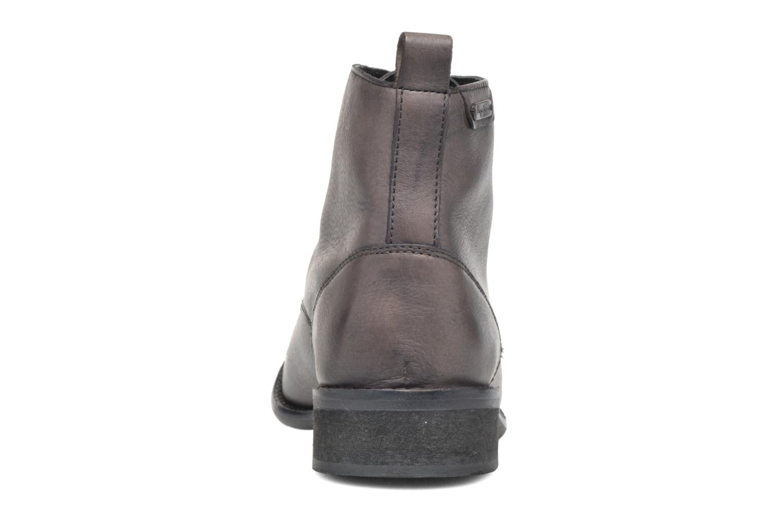 Ankle boots Pepe jeans Seymour Laces Black view from the right