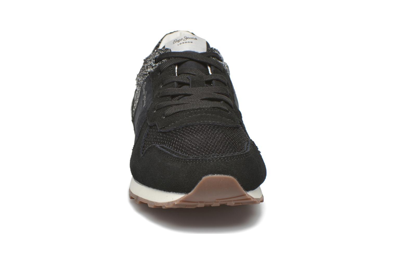 Baskets Pepe jeans Verona W Break Noir vue portées chaussures