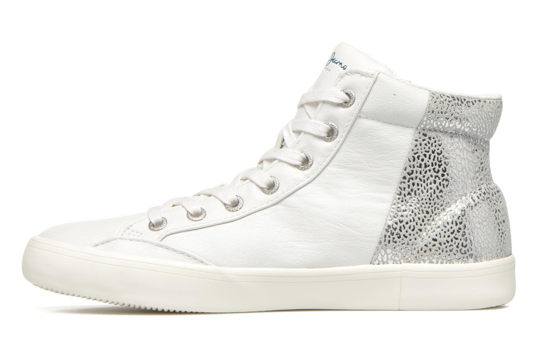Sneakers Pepe jeans Clinton Break Bianco immagine frontale