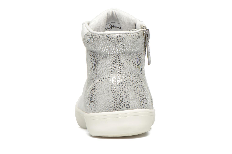 Sneakers Pepe jeans Clinton Break Bianco immagine destra