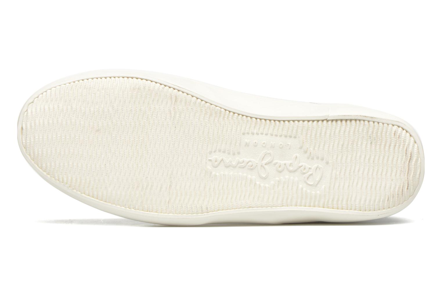 Baskets Pepe jeans Clinton Break Blanc vue haut
