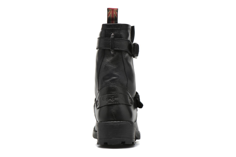 Bottines et boots Pepe jeans Agra Basic Noir vue droite