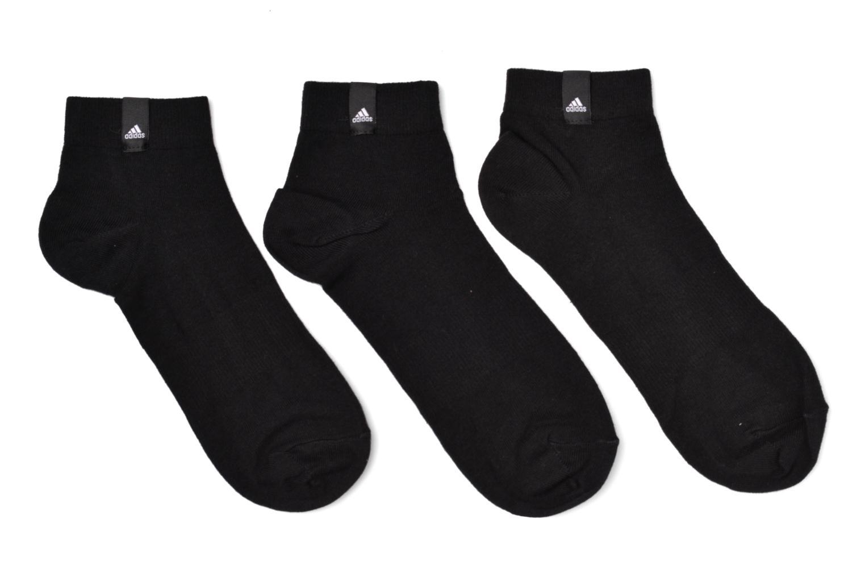 Socken & Strumpfhosen Adidas Performance PER LA ANKLE 3P schwarz detaillierte ansicht/modell