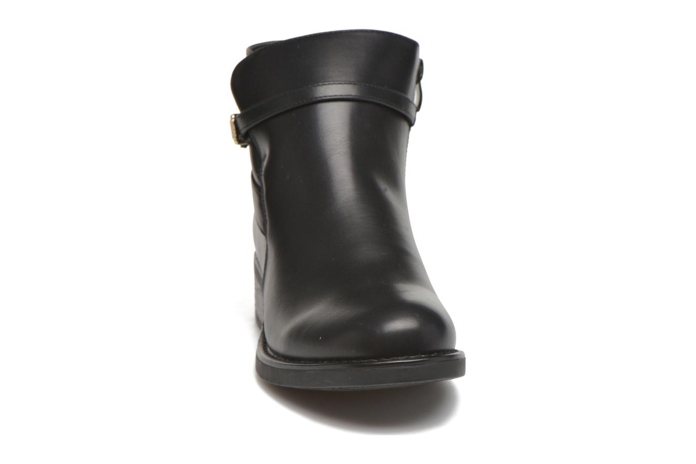 Bottines et boots Pieces Daniella Noir vue portées chaussures