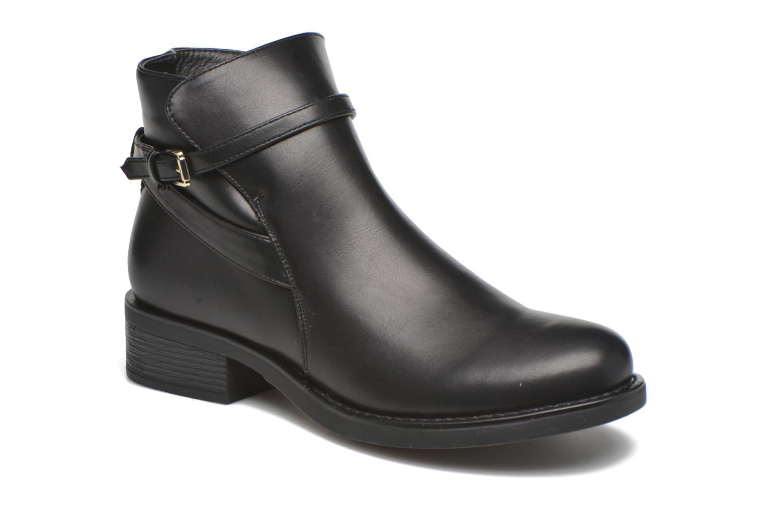Ankle boots Pieces Daniella Black detailed view/ Pair view