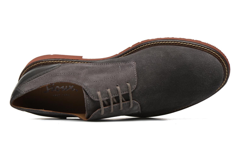 Chaussures à lacets Sioux Birgo Marron vue gauche