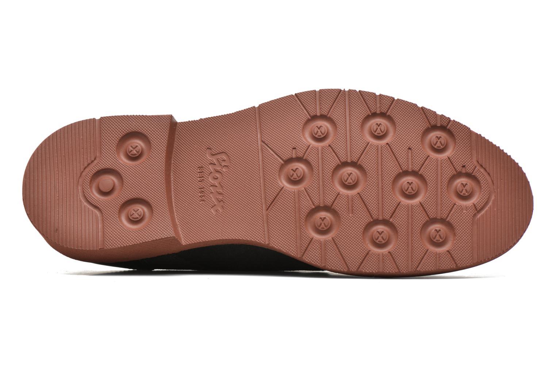 Chaussures à lacets Sioux Birgo Marron vue haut