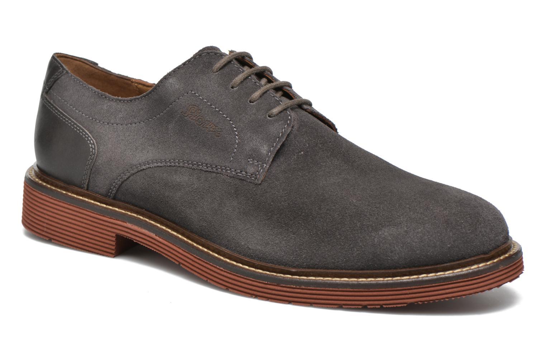 Chaussures à lacets Sioux Birgo Marron vue détail/paire